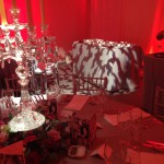 stunning wedding dinner table